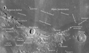 Montes Haemus (NASA/LROC)